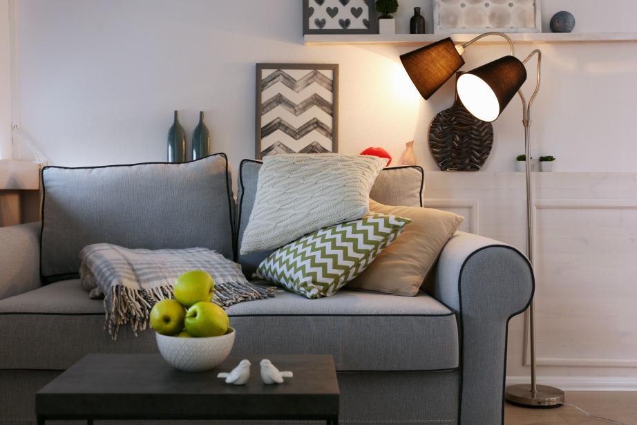 Φωτεινές γωνιές θα δώσουν ζεστασιά στο χώρο σας.