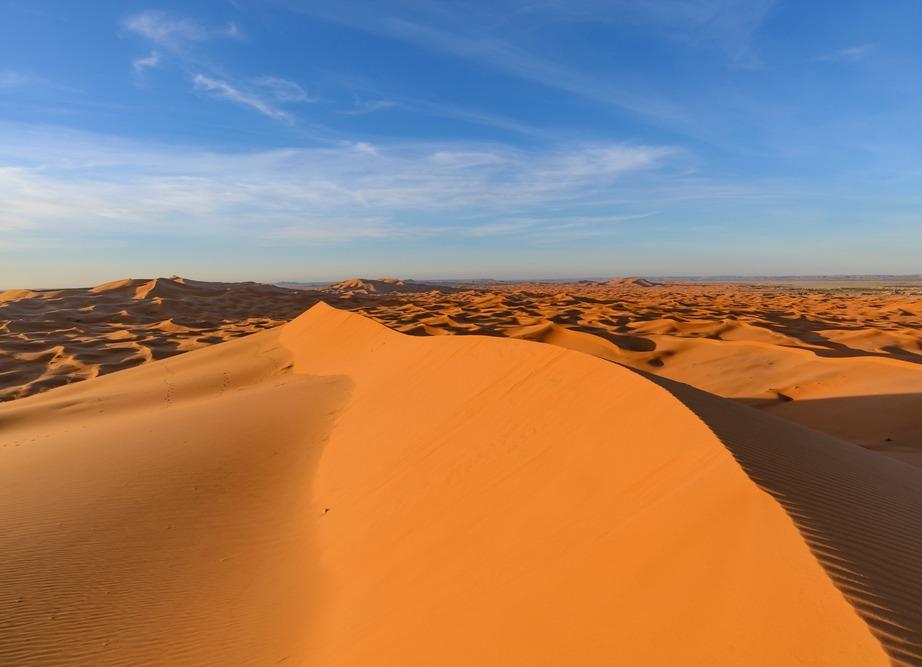 """Σαχάρα στα αραβικά σημαίνει """"έρημος""""."""