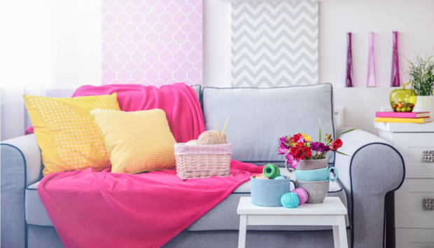 3 Πολύ Ιδιαίτεροι Τρόποι για να Βάλετε Χρώμα στο Σπίτι σας