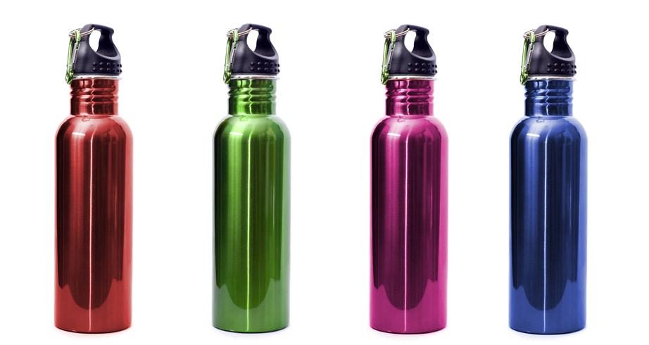 Μπορείτε να αντικαταστήσετε τα πλαστικά μπουκάλια με μπουκάλια από ανοξείδωτο ατσάλι.