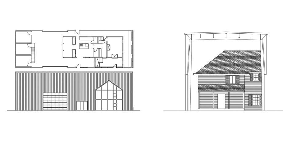 Τα σχέδια του πρωτότυπου αυτού σπιτιού.