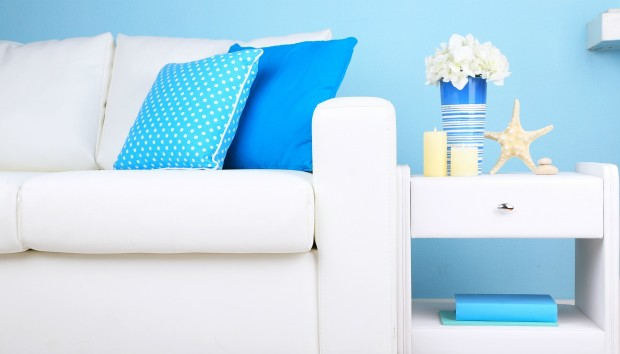 9 Δωμάτια που Συνδυάζουν Μοναδικά το Λευκό με το Μπλε