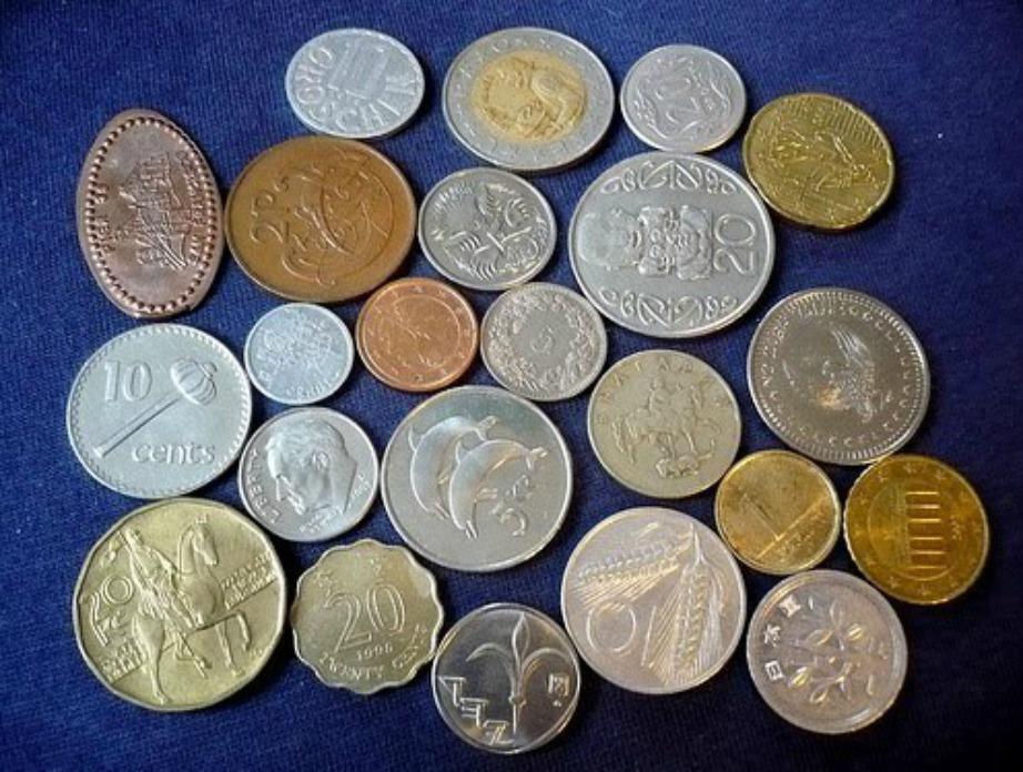 Οι συλλογές νομισμάτων είναι μια αγαπημένη ασχολία πολλών Βρετανών.