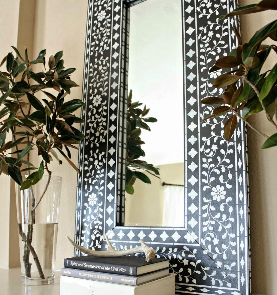 Οι καθρέφτες πάντα αναβαθμίζουν το στιλ ενός χώρου.