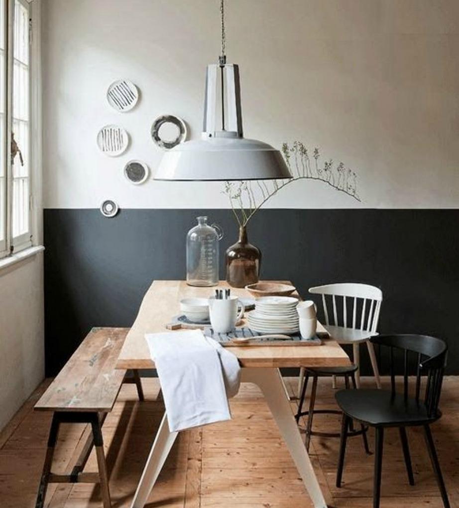 Διακοσμήστε τον τοίχο σας με έργα τέχνης στα χρώματα του τοίχου σας ή σε εντελώς διαφορετικές αποχρώσεις.