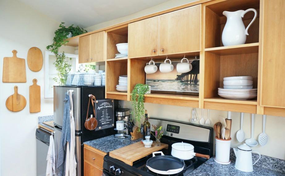 Από τον χώρο της κουζίνας δεν λείπει τίποτα!