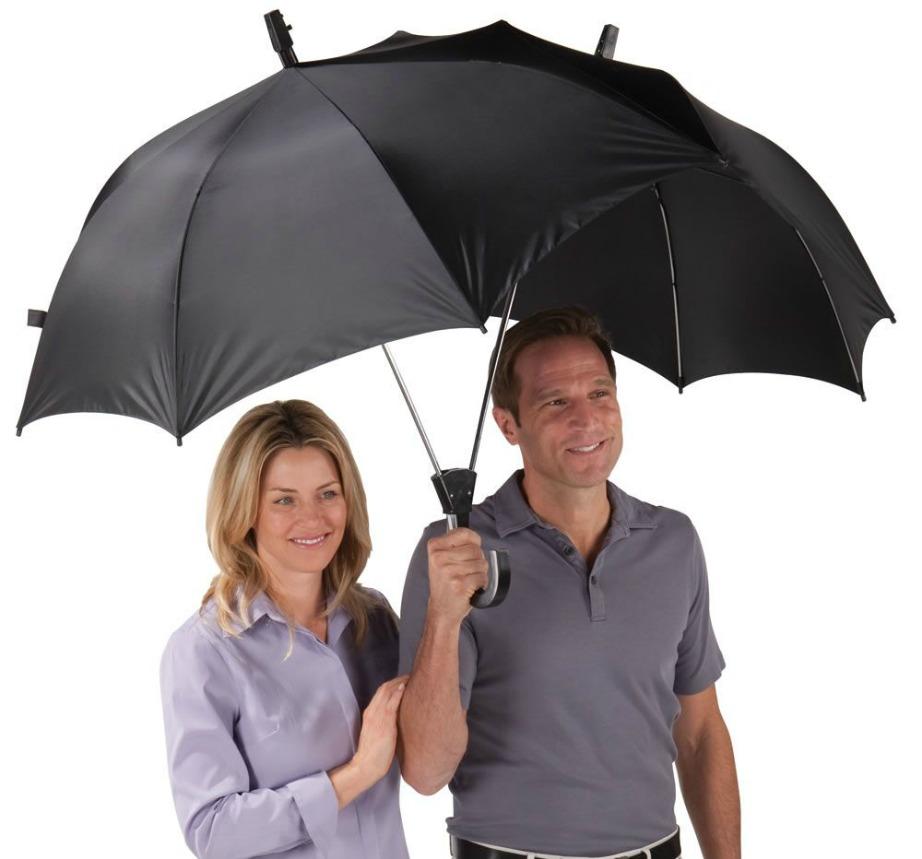 Η συγκεκριμένη ομπρέλα θα σας φέρει πιο κοντά ακόμα και τις πολύ βροχερές μέρες.