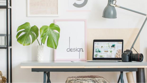 10 Διακοσμητικές Ιδέες για να Δώσετε Προσωπικότητα στο Μικρό σας Γραφείο
