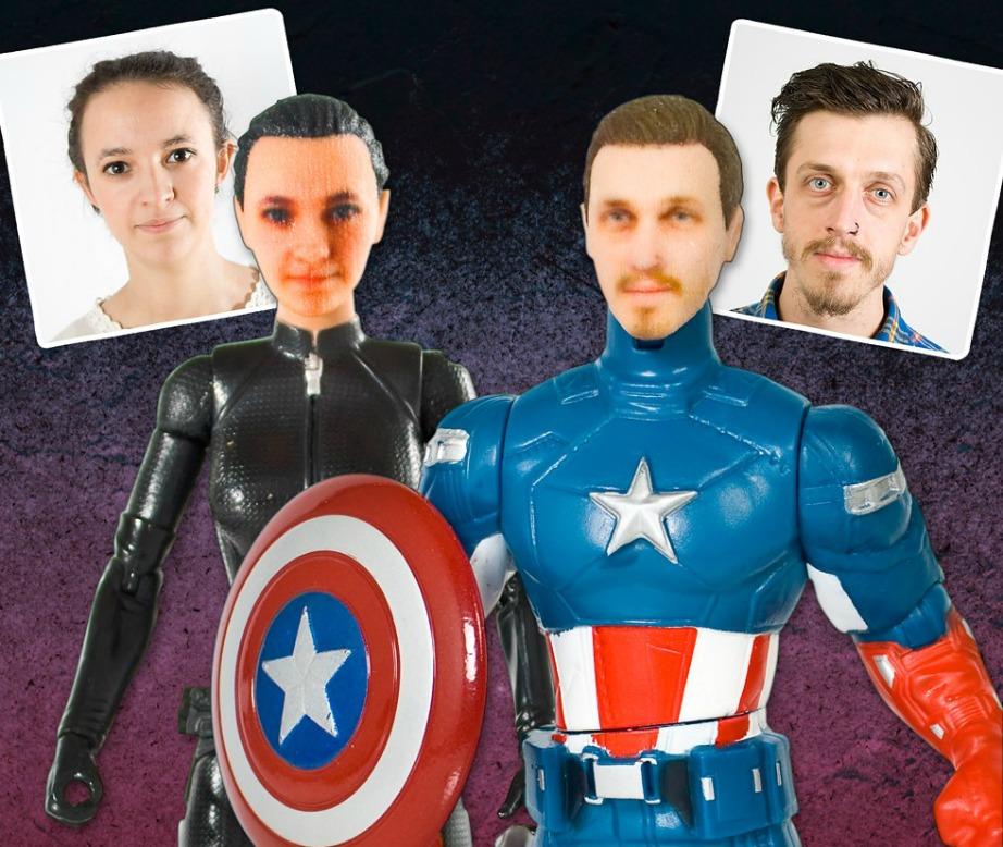 Προσωποποιημένοι σούπερ ήρωες! Τι όμορφο και πρωτότυπο δώρο!