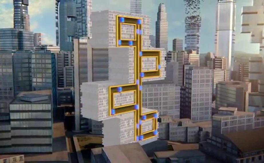 Το ασανσέρ του μέλλοντος θα κινείται σε διάφορες κατευθύνσεις.
