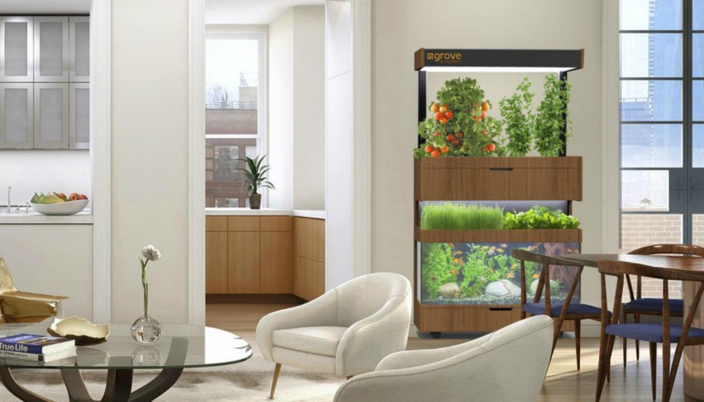 Δείτε τι όμορφος που δείχνει ο κήπος μέσα στο σαλόνι;