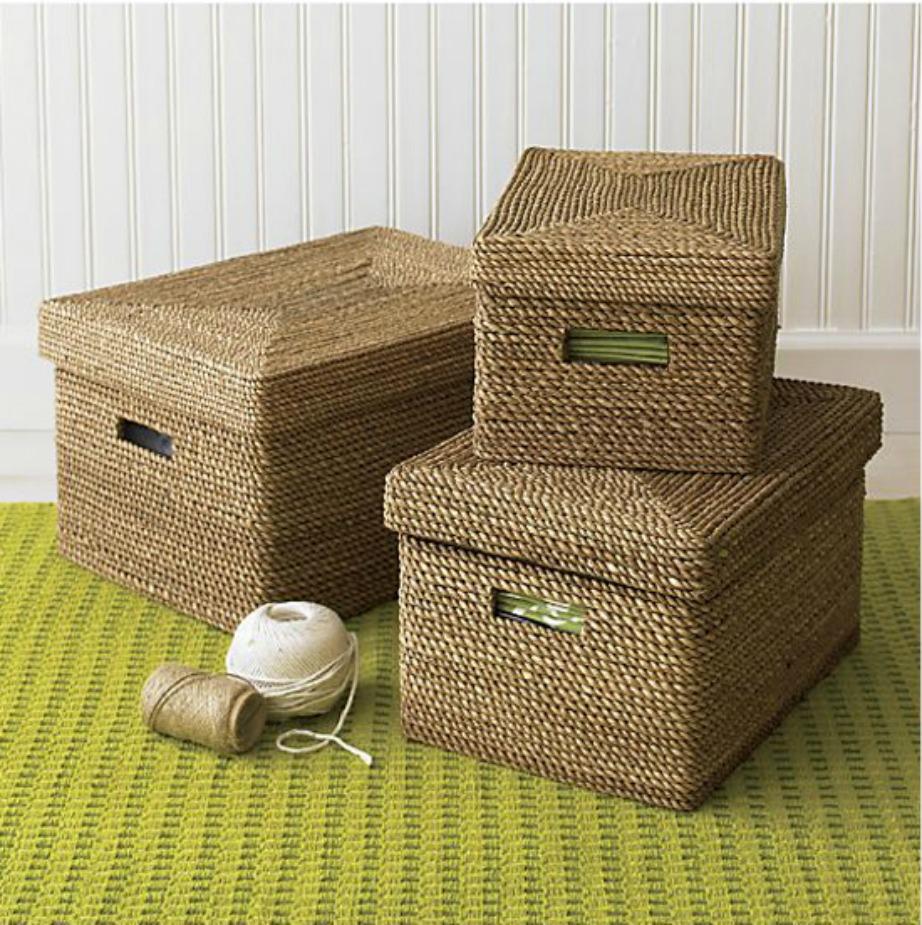 Αυτά τα κουτιά θα δώσουν στιλ στο σαλόνι σας ενώ ταυτόχρονα θα βοηθήσουν στο να επικρατεί πάντα τάξη.