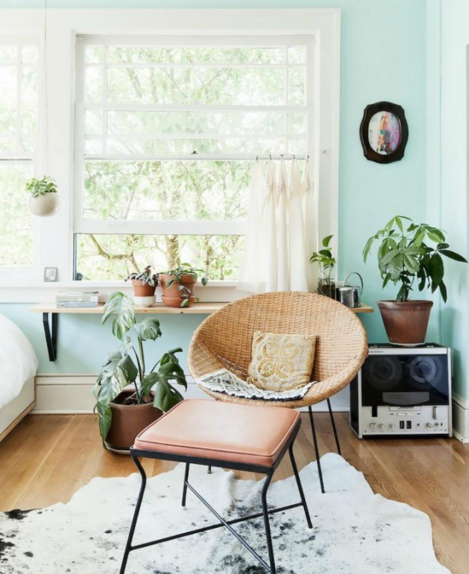 Βάκτε αυτή την υπέροχη παστέλ απόχρωση στους τοίχους του σπιτιού σας.