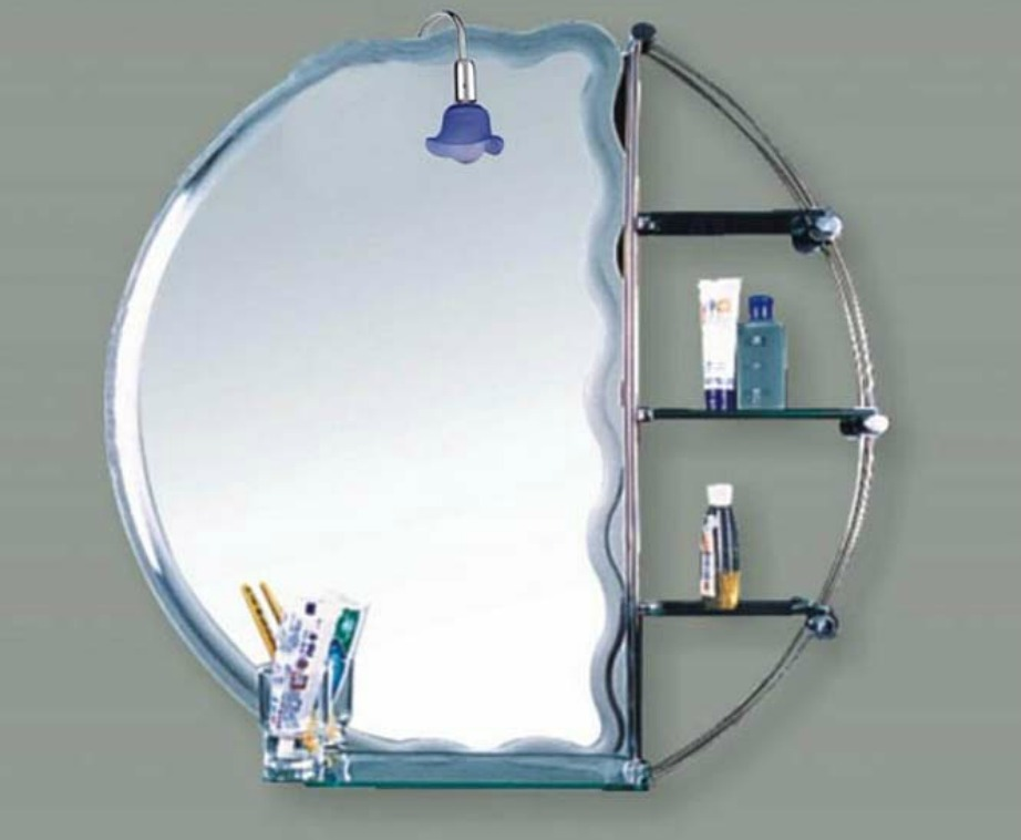 Αν έχετε έλλειψη αποθηκευτικού χώρου μπορείτε να αγοράσετε ένα έπιπλο με καθρέφτη αλλά και μερικά έξτρα ράφια.