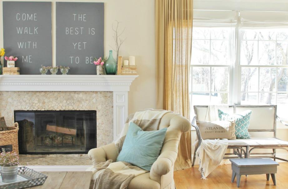 Διακοσμήστε το σπίτι σας μόνο με πράγματα που σας αρέσουν και σας κάνουν ευτυχισμένους.
