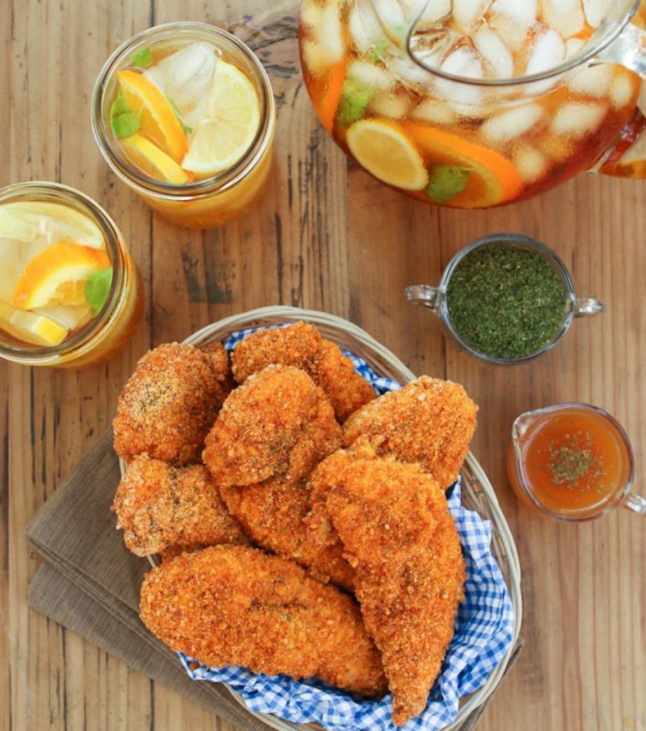 Αυτό είναι το αγαπημένο φαγητό της ηθοποιού. Φτερούγες κοτόπουλου και τσάι της γιαγιάς.