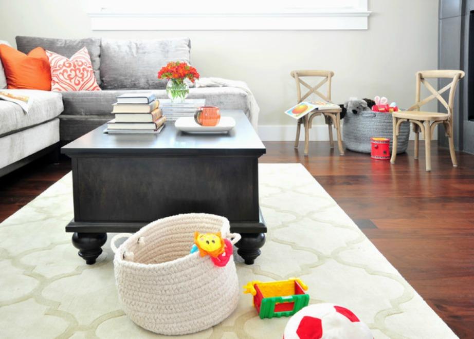 Αν το σπίτι δεν έχει πολλούς αποθηκευτικούς χώρους θα αναγκαστείτε να αγοράσετε έξτρα καλάθια (βλέπε εικόνα).