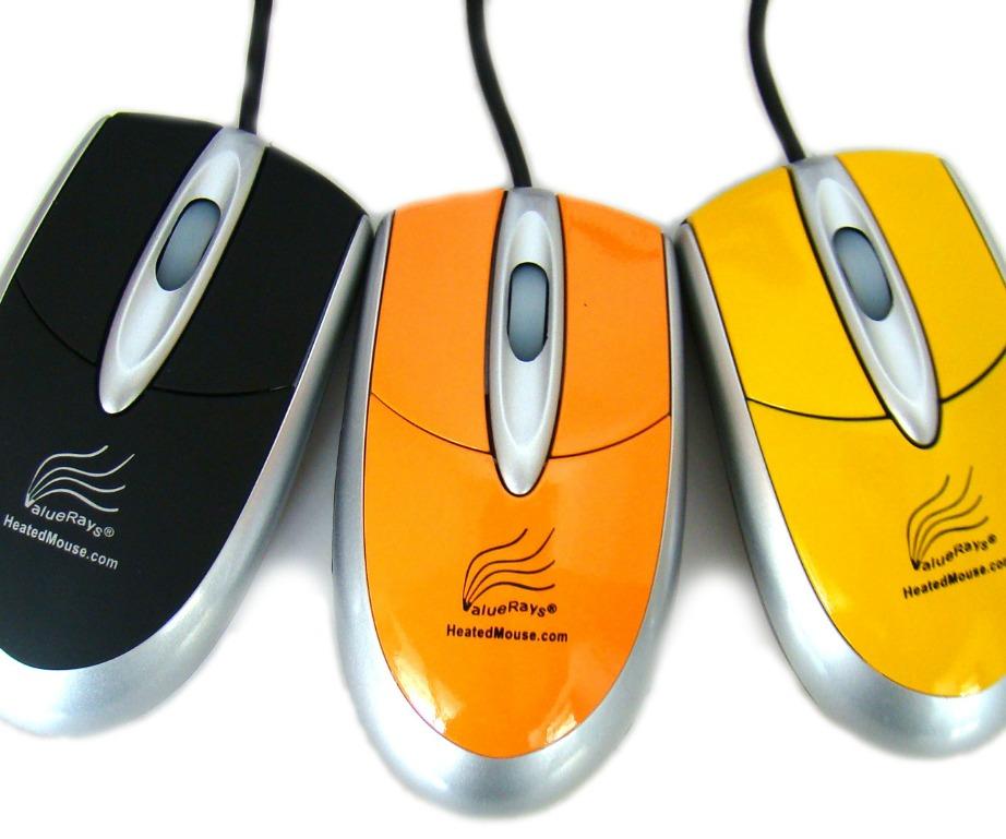 Αυτά τα ποντίκια θα διατηρήσουν ζεστό το χέρι σας ενώ δουλεύετε.