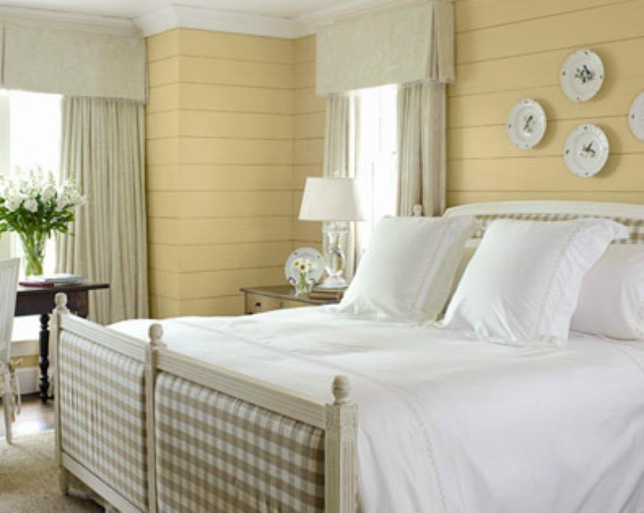 Το απαλό κίτρινο είναι η δεύτερη καλύτερη απόχρωση για καλό και βαθύ ύπνο.
