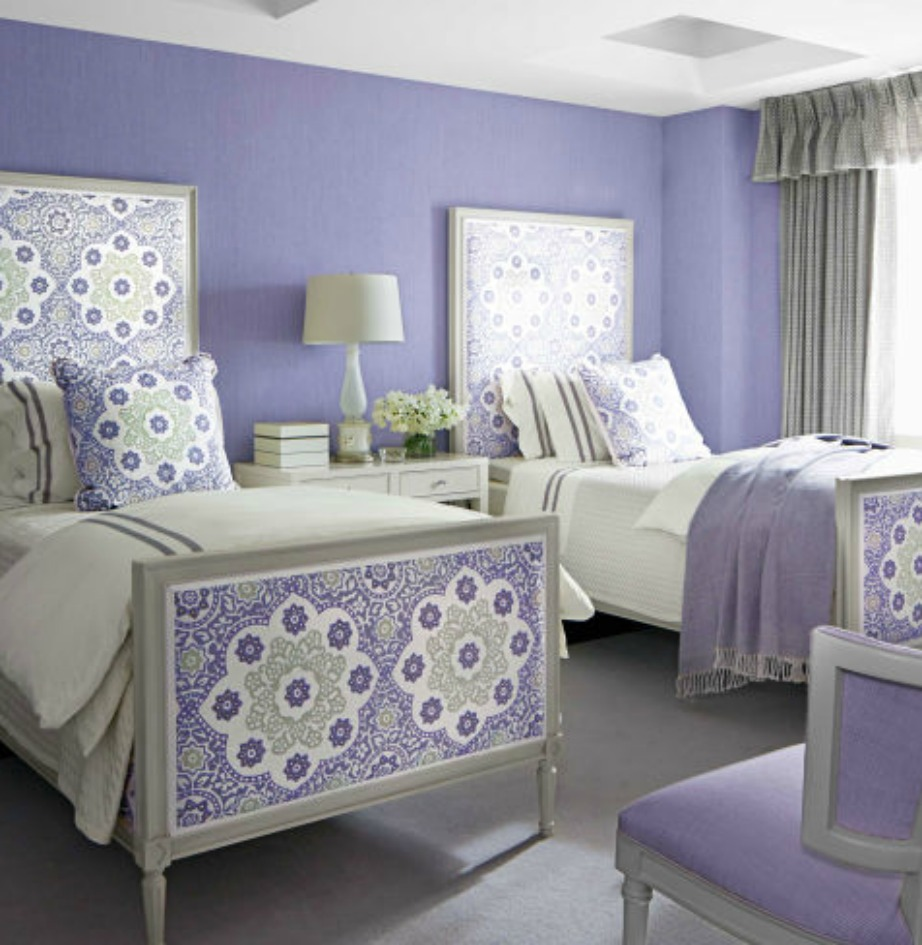 Το χειρότερο χρώμα για υπνοδωμάτιο (αν έχετε πρόβλημα ύπνου) είναι το μοβ.