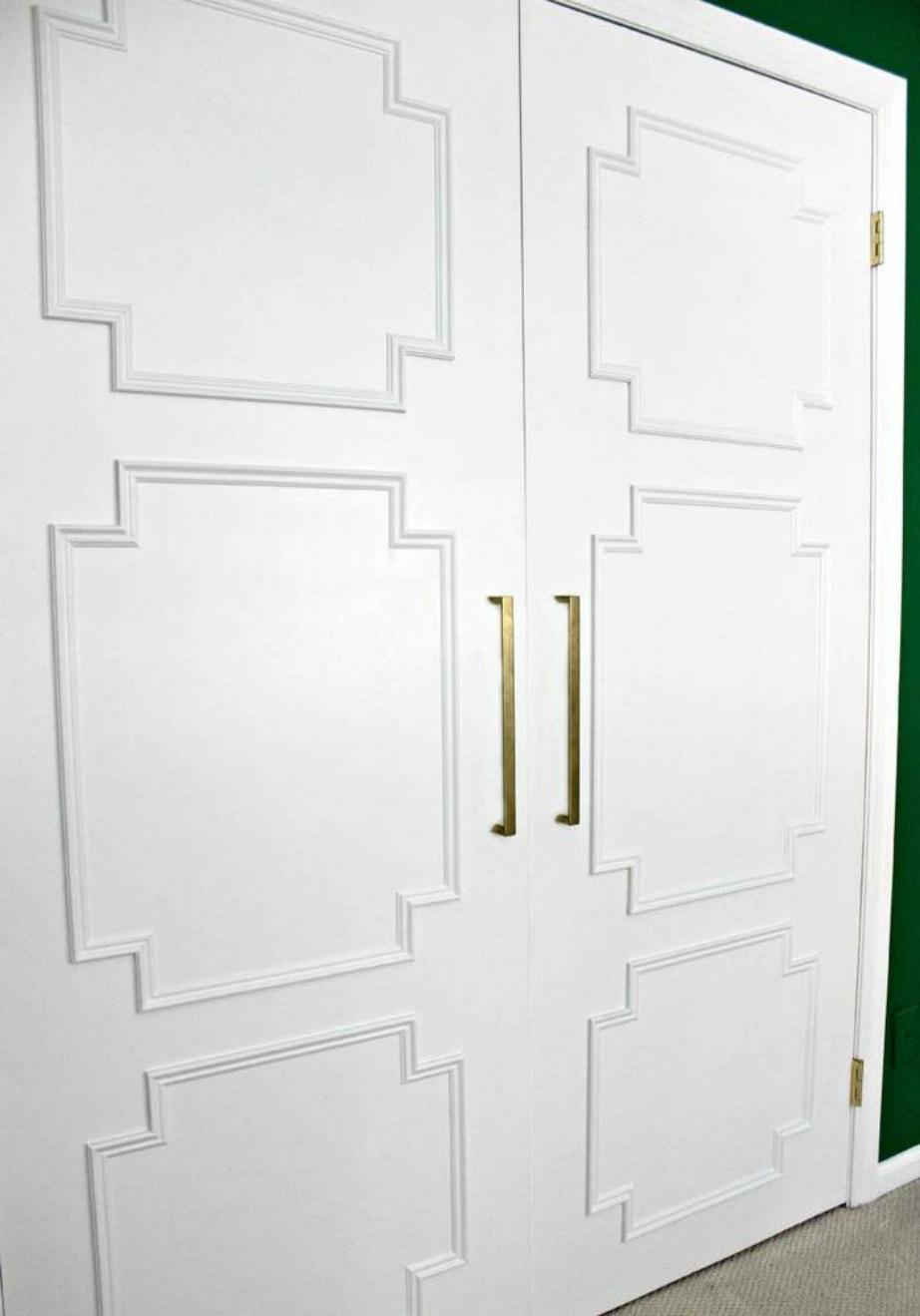 Δώστε χαρακτήρα κάνοντας την πόρτα σας πιο επιβλητική.