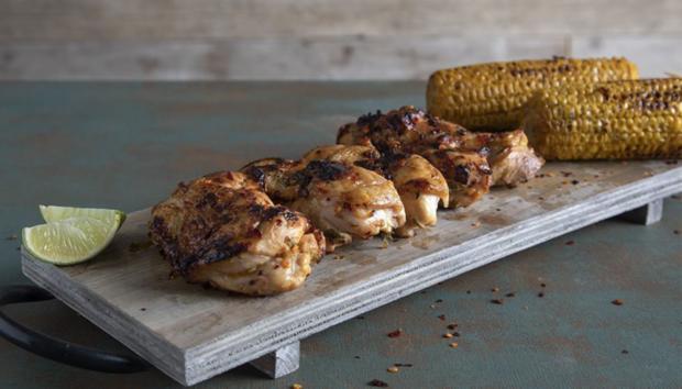 Κοτόπουλο Φιλέτο Ψητό με Τσίλι και Λάιμ