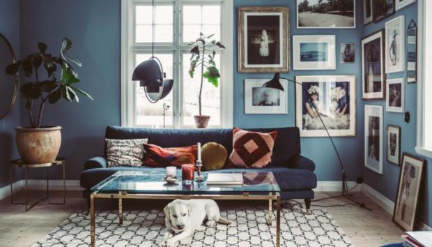 Ένα Vintage Μπλε Σπίτι που θα σας Δώσει Ιδέες