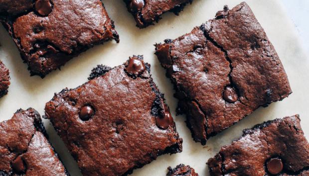 Νηστίσιμα Brownies Tαχινιού Χωρίς Zάχαρη