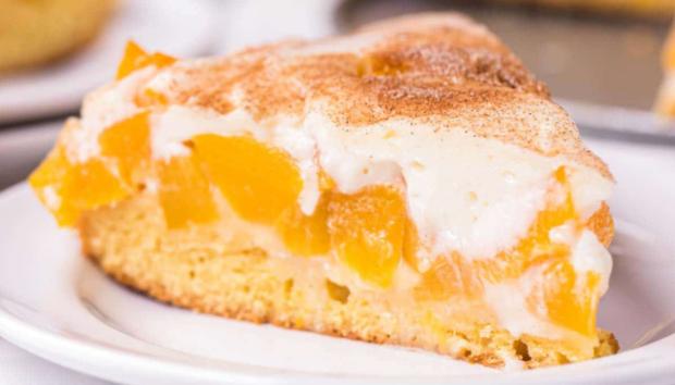 Υγιεινό Κέικ Ροδάκινου με Ελαιόλαδο Χωρίς Ζάχαρη