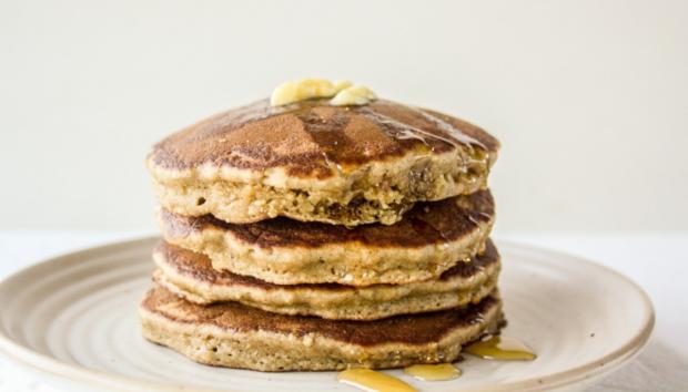Υγιεινά και Vegan Pancakes Βρώμης