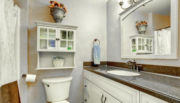 Αυτός Είναι ο πιο Απλός και Όμορφος Τρόπος για να Διακοσμήσετε το Μικρό σας Μπάνιο!