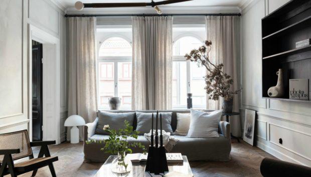 Ένα Διαμέρισμα στη Στοκχόλμη που θα σας Δώσει Όμορφες Ιδέες Διακόσμησης!