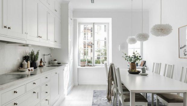 Ένα Ονειρεμένο Σκανδιναβικό Διαμέρισμα που σας Δίνει Υπέροχες Χειμωνιάτικες Ιδέες Διακόσμησης!