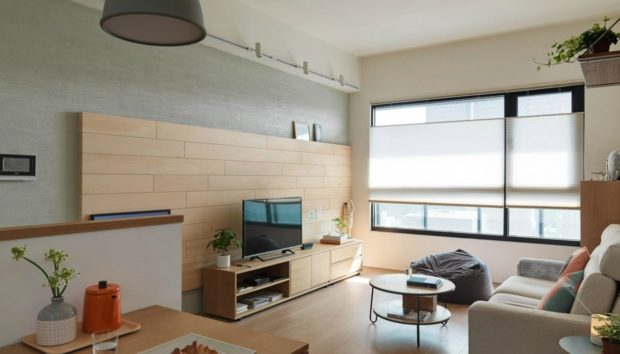 Ένα Διαμέρισμα 80 τμ στην Taiwan που θα σας Εμπνεύσει!