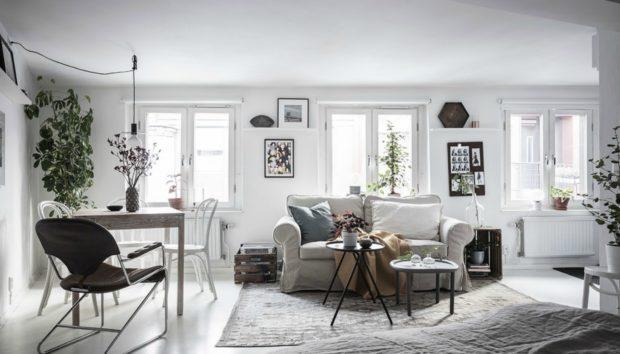 Ένα Μικρό αλλά Ονειρεμένο Διαμέρισμα που θα σας Εμπνεύσει!