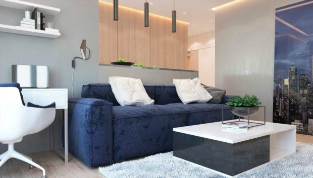 Ένα Διαμέρισμα 48 τμ για 2 που θα σας Δώσει Απίστευτες Ιδέες Διακόσμησης!