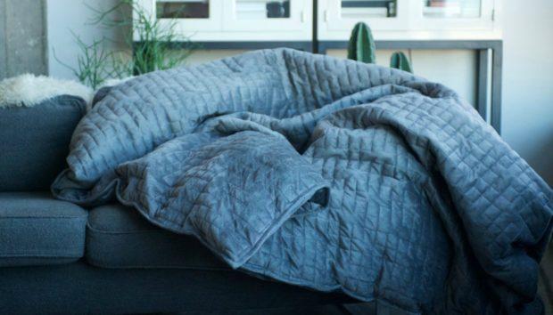 Αυτή η Κουβέρτα Μειώνει το Άγχος και σας Βοηθάει να Κοιμάστε Καλύτερα!