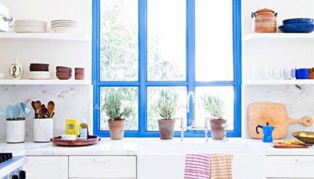 7 Πράγματα που Μπορείτε να Βάψετε στην Κουζίνα σας και να την Κάνετε να Δείχνει Ολοκαίνουργια!