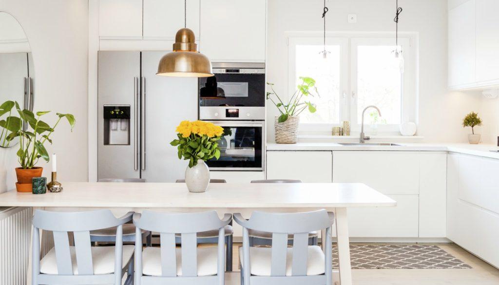 Τα πιο Στιλάτα Τραπέζια για την Μικρή σας Κουζίνα