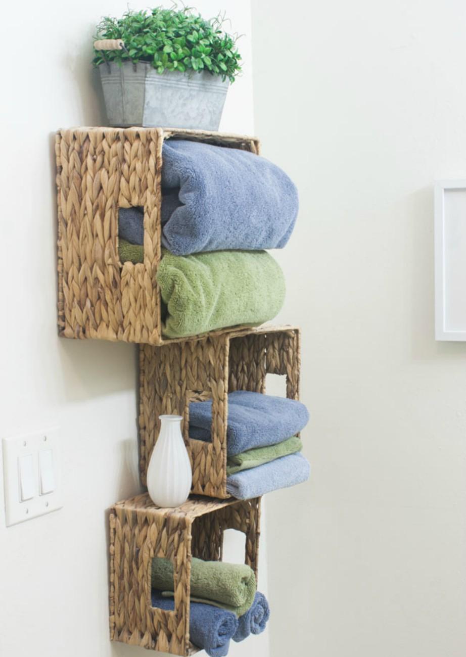 Το Σούπερ Κόλπο για να Αποκτήσετε Έξτρα Αποθηκευτικό Χώρο στο Μπάνιο σας!