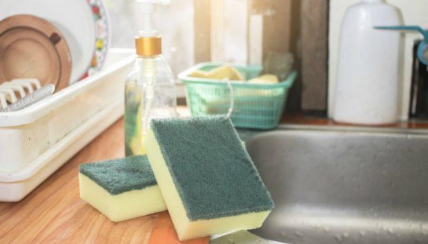 Να Γιατί Πρέπει να Κόψετε τη Γωνία από το Σφουγγάρι για τα Πιάτα!
