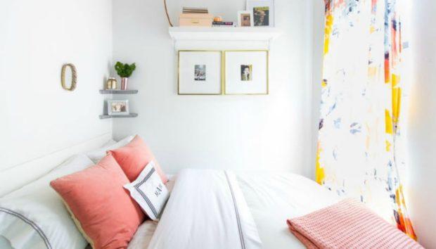 8 Τρόποι για να Οργανώσετε και να Διακοσμήσετε Ακόμα και το πιο Μικρό Υπνοδωμάτιο!