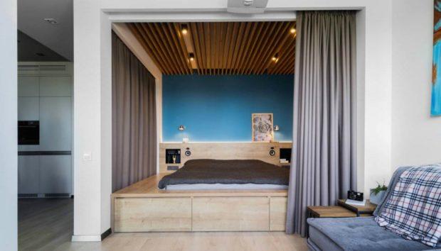 Αυτο το Διαμέρισμα Είναι Μόλις 48 τμ! Δείτε την Υπέροχη και Λειτουργική Διακόσμηση που Έχει