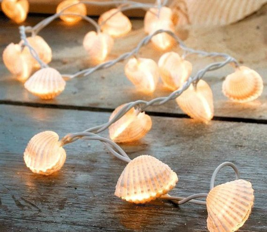 Το πιο Ρομαντικό DIY Διακοσμητικό με Κοχύλια για την Βεράντα σας