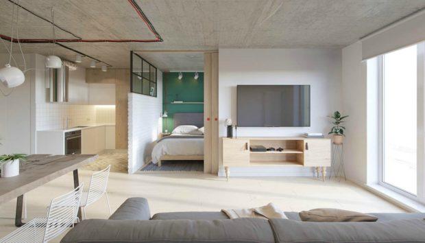 Ένα Διαμέρισμα 52 τμ για 2! Θα σας Δώσει Υπέροχες Ιδέες Διακόσμησης