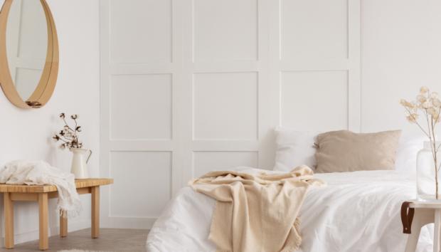Δείτε πώς θα Δώσετε Χαρακτήρα σε ένα Λευκό Υπνοδωμάτιο
