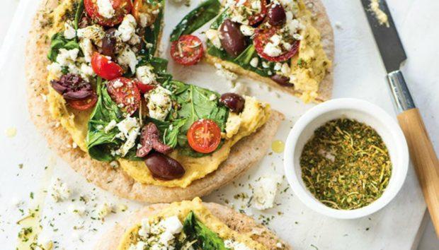 Η πιο Νοστιμη Μεσογειακή Πίτσα Έτοιμη σε 10 Λεπτά!